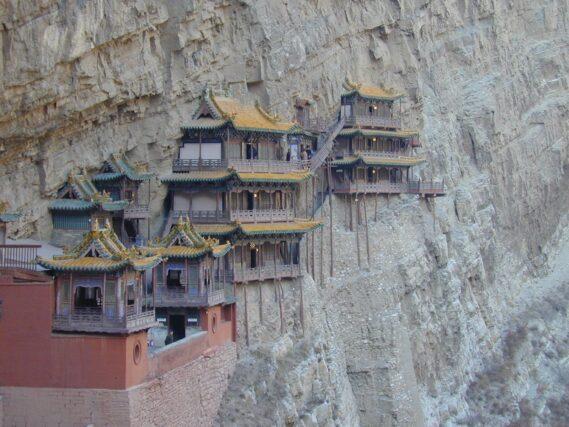 china-datong-hangende-klooster DATONG